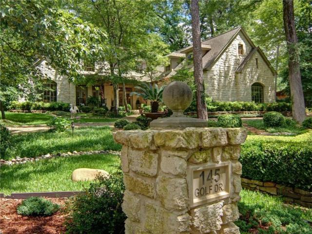 145 Golf Drive, Holly Lake Ranch, TX 75765 (MLS #14118337) :: The Heyl Group at Keller Williams