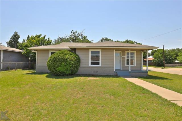 802 S Jefferson Drive, Abilene, TX 79605 (MLS #14118349) :: The Heyl Group at Keller Williams