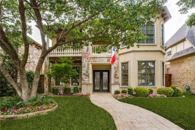4915 Purdue Avenue, Dallas, TX 75209 (MLS #14118380) :: The Heyl Group at Keller Williams