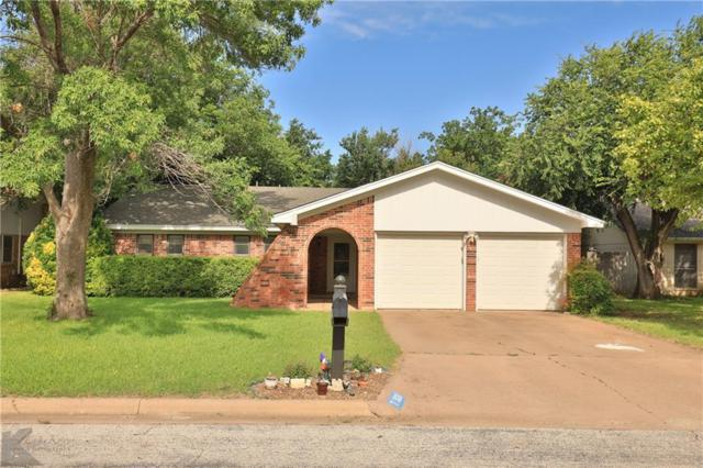 3026 Meander Street, Abilene, TX 79602 (MLS #14118623) :: The Heyl Group at Keller Williams