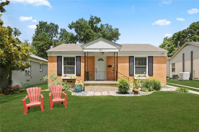6911 E Grand Avenue, Dallas, TX 75223 (MLS #14118636) :: All Cities Realty