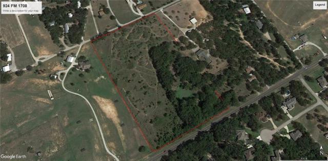 924b Fm 1708, Weatherford, TX 76087 (MLS #14118647) :: The Hornburg Real Estate Group