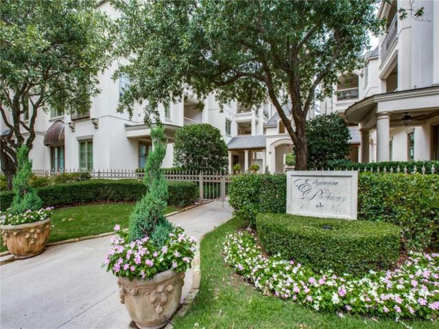 8511 Edgemere Road #303, Dallas, TX 75225 (MLS #14118879) :: The Heyl Group at Keller Williams