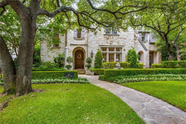 3201 Centenary Avenue, University Park, TX 75225 (MLS #14119132) :: Robbins Real Estate Group