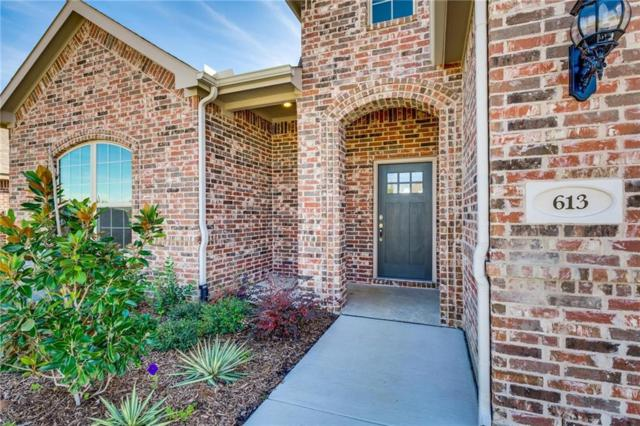 613 Meadowedge Lane, Denton, TX 76207 (MLS #14119281) :: All Cities Realty