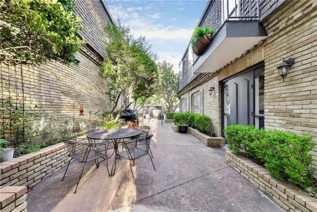 5039 Cedar Springs Road #109, Dallas, TX 75235 (MLS #14119427) :: The Heyl Group at Keller Williams