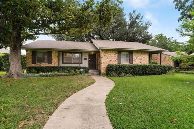6546 Kingsbury Drive, Dallas, TX 75231 (MLS #14119436) :: RE/MAX Town & Country