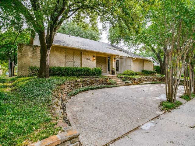 1202 Wiltshire Drive, Carrollton, TX 75007 (MLS #14119604) :: Roberts Real Estate Group