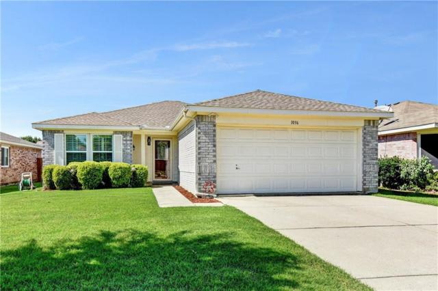 1036 Singletree Drive, Forney, TX 75126 (MLS #14119633) :: RE/MAX Town & Country