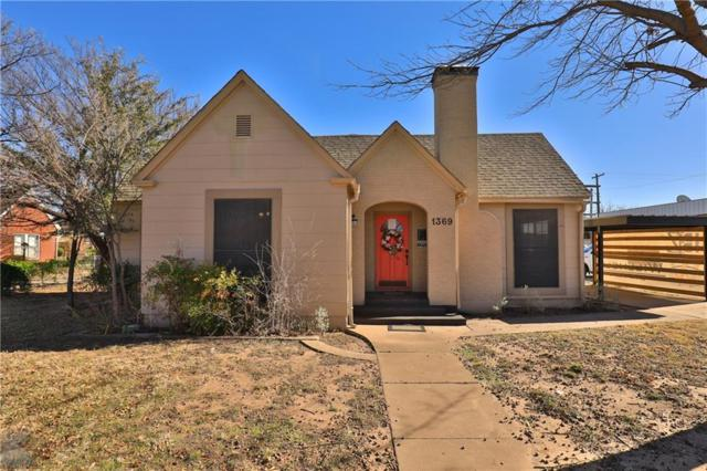 1369 Sayles Boulevard, Abilene, TX 79605 (MLS #14119725) :: The Heyl Group at Keller Williams