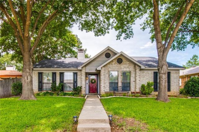 827 Blue Oak Drive, Lewisville, TX 75067 (MLS #14120093) :: The Heyl Group at Keller Williams