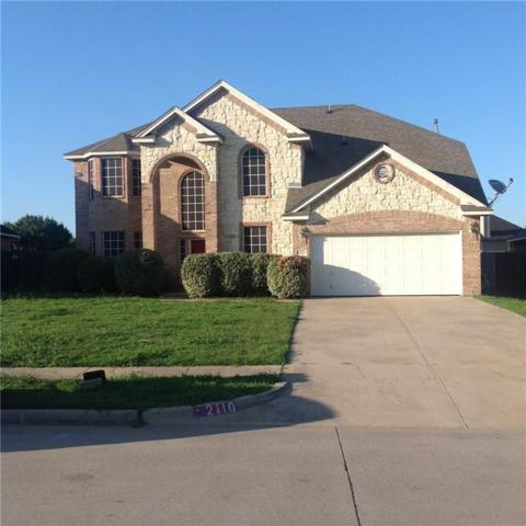 2110 Kingsley Drive, Mansfield, TX 76063 (MLS #14120283) :: RE/MAX Town & Country