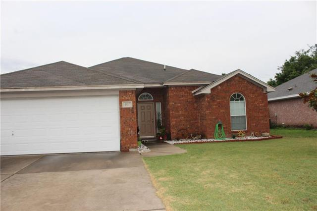 403 Odell Street, Cleburne, TX 76033 (MLS #14120350) :: RE/MAX Town & Country