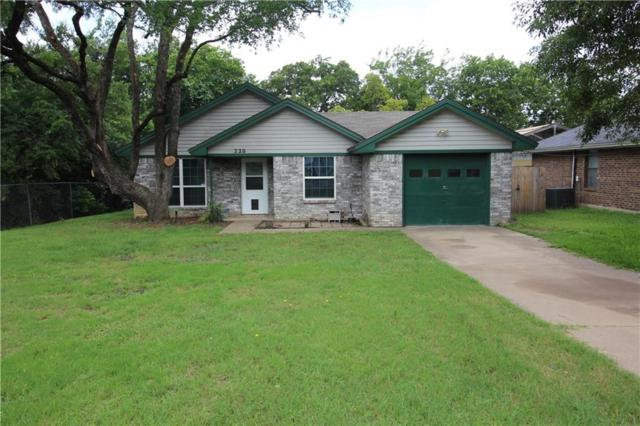 220 Cherry Street, Weatherford, TX 76086 (MLS #14120480) :: Roberts Real Estate Group