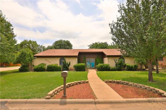 1035 Chriswood Drive, Abilene, TX 79601 (MLS #14120531) :: The Tierny Jordan Network