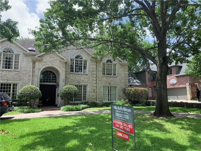 6722 Lakehurst Avenue, Dallas, TX 75230 (MLS #14120609) :: Frankie Arthur Real Estate