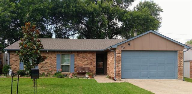 530 E Ridgemont Drive, Allen, TX 75002 (MLS #14120629) :: Hargrove Realty Group