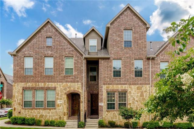 4416 Fisk Lane, Carrollton, TX 75010 (MLS #14120703) :: Real Estate By Design