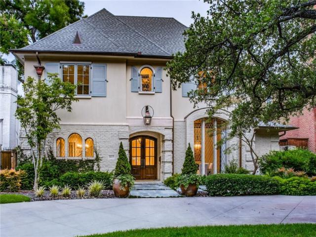 3917 Hanover Street, University Park, TX 75225 (MLS #14120854) :: Robbins Real Estate Group