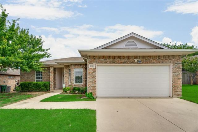 5812 Shady Springs Trail, Fort Worth, TX 76179 (MLS #14121358) :: RE/MAX Town & Country