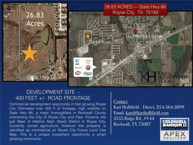 00 State Hwy 66, Royse City, TX 75189 (MLS #14121360) :: RE/MAX Landmark