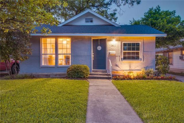 2811 Emmett Street, Dallas, TX 75211 (MLS #14121405) :: Kimberly Davis & Associates