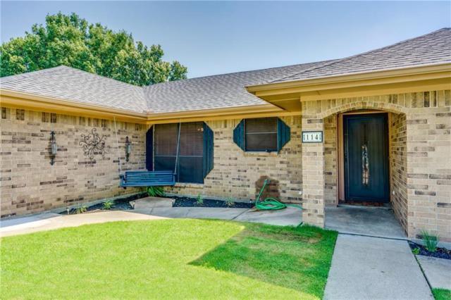 114 Colonial Heights, Sanger, TX 76266 (MLS #14121747) :: Kimberly Davis & Associates