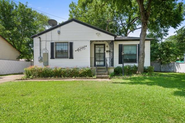 4216 Western Street, Dallas, TX 75211 (MLS #14122288) :: Kimberly Davis & Associates