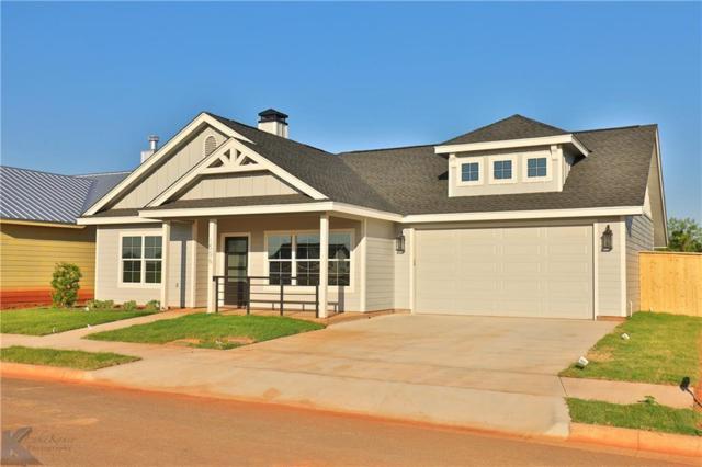 1506 Fletcher's Path, Buffalo Gap, TX 79508 (MLS #14122381) :: The Good Home Team