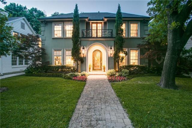 3820 Lovers Lane, University Park, TX 75225 (MLS #14122438) :: Kimberly Davis & Associates