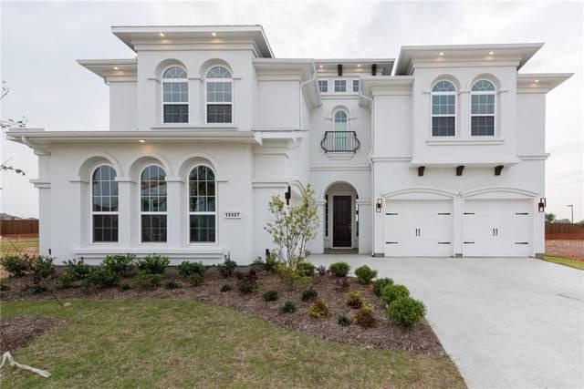 12927 Ignatius Dr, Frisco, TX 75035 (MLS #14122663) :: Frankie Arthur Real Estate