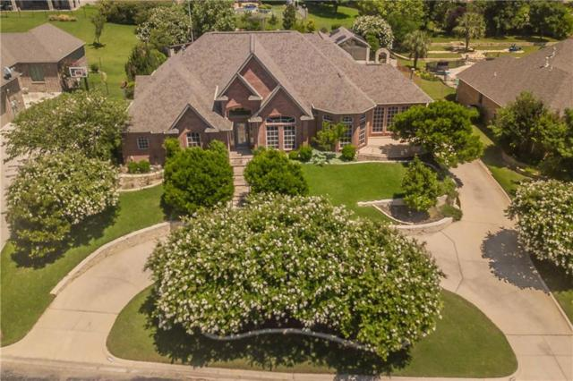 7409 Eagle Ridge Circle, Fort Worth, TX 76179 (MLS #14122759) :: RE/MAX Town & Country