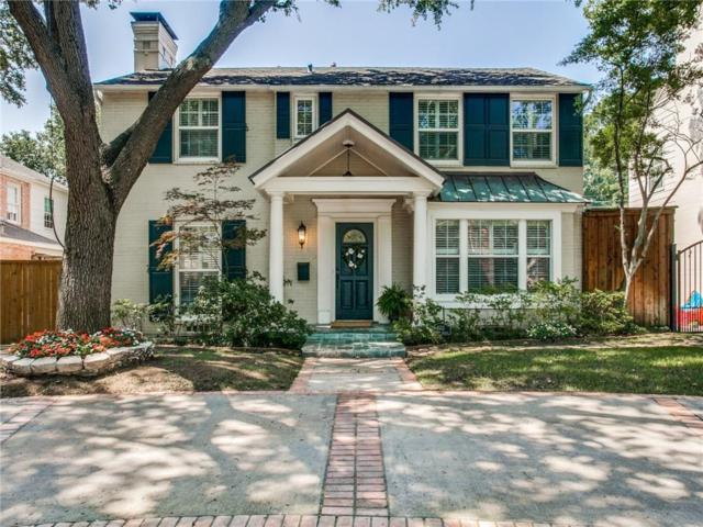 4533 Belfort Avenue, Highland Park, TX 75205 (MLS #14122881) :: The Heyl Group at Keller Williams
