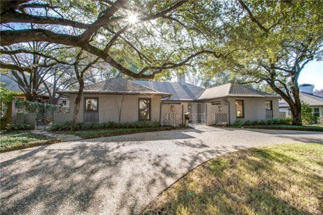 3826 N Versailles Avenue, Dallas, TX 75209 (MLS #14123036) :: Kimberly Davis & Associates