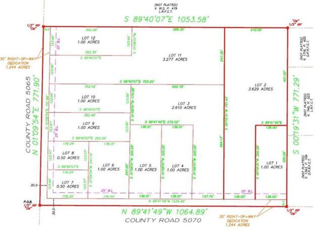 Lot 11 County Rd 5070, Leonard, TX 75452 (MLS #14123271) :: The Hornburg Real Estate Group