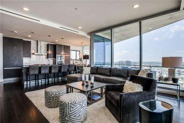 3130 N Harwood Street #2503, Dallas, TX 75201 (MLS #14123329) :: Van Poole Properties Group