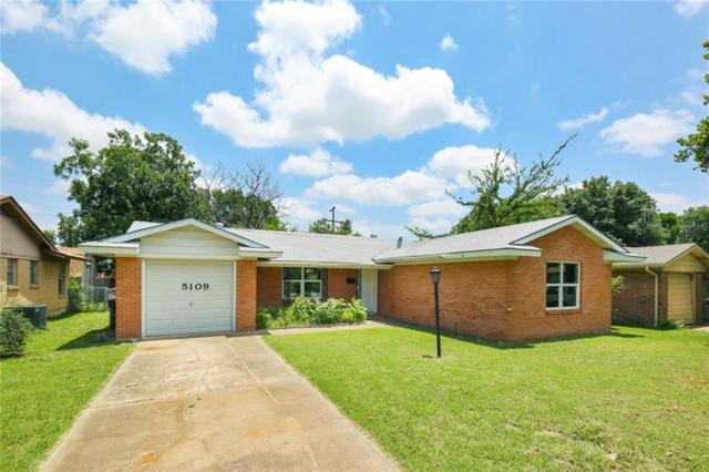 5109 Lubbock Avenue, Fort Worth, TX 76115 (MLS #14123404) :: RE/MAX Town & Country