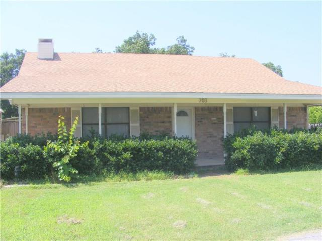 703 NE 4th Street, Hubbard, TX 76648 (MLS #14123463) :: RE/MAX Town & Country