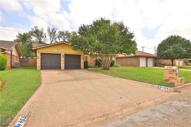 4465 Bob-O-Link Drive, Abilene, TX 79606 (MLS #14123477) :: Ann Carr Real Estate