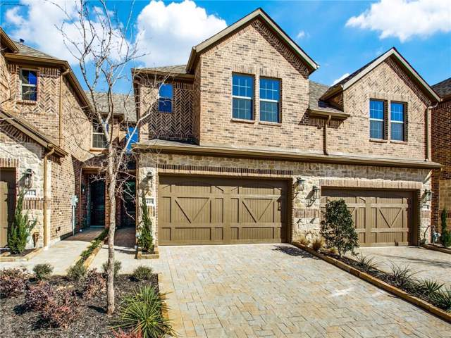 554 Sequoia Street, Allen, TX 75002 (MLS #14123599) :: Tenesha Lusk Realty Group