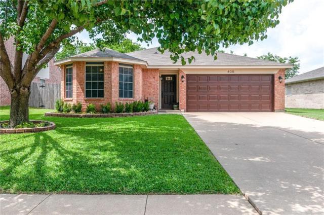408 Meadow Street, Saginaw, TX 76179 (MLS #14123834) :: RE/MAX Town & Country