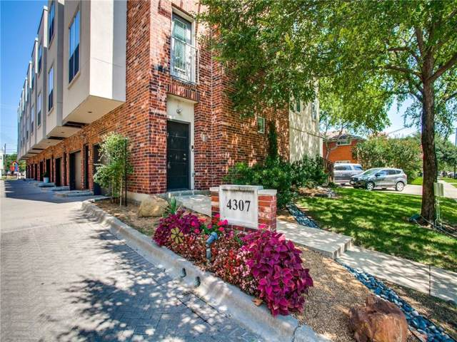 4307 Mckinney Avenue #11, Dallas, TX 75205 (MLS #14123903) :: HergGroup Dallas-Fort Worth