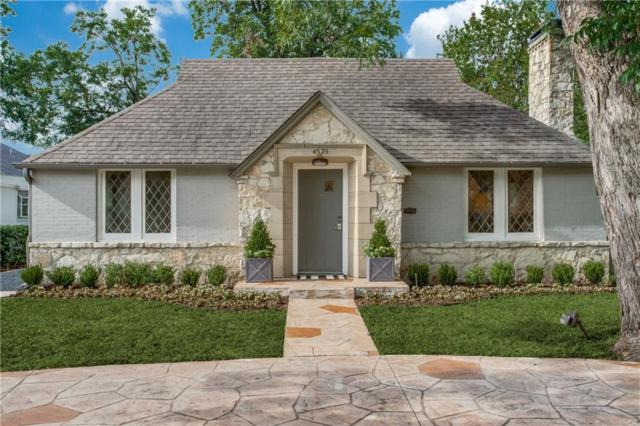 4525 Mockingbird Lane, Highland Park, TX 75205 (MLS #14124010) :: The Heyl Group at Keller Williams