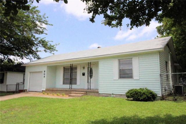 809 Armstrong Drive, Garland, TX 75040 (MLS #14124094) :: The Tierny Jordan Network