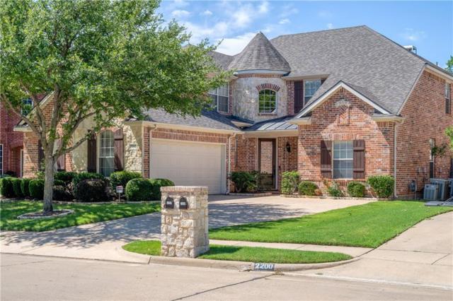 2202 Watercrest Drive, Keller, TX 76248 (MLS #14124291) :: The Heyl Group at Keller Williams
