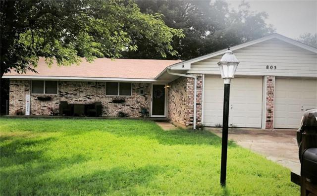 805 Park Drive, Mineral Wells, TX 76067 (MLS #14124401) :: RE/MAX Town & Country