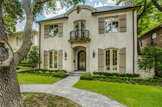 3409 Dartmouth Avenue, Highland Park, TX 75205 (MLS #14124652) :: Robbins Real Estate Group