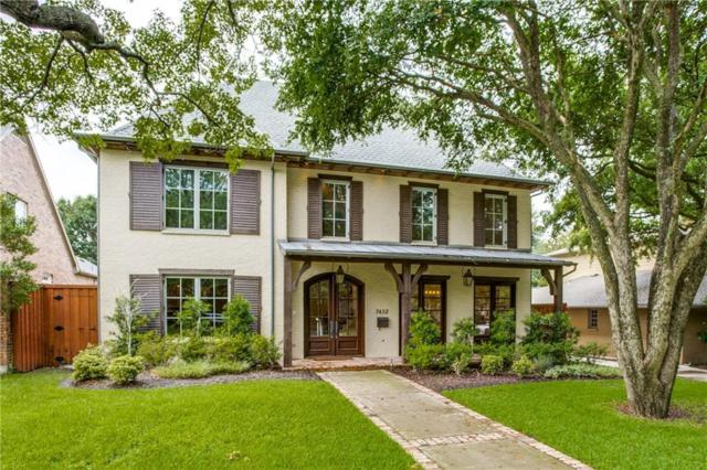 7432 Wentwood Drive, Dallas, TX 75225 (MLS #14124831) :: The Heyl Group at Keller Williams