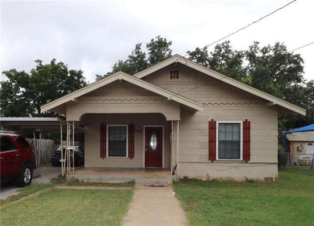 1305 Phillips Drive, Brownwood, TX 76801 (MLS #14125028) :: The Tonya Harbin Team