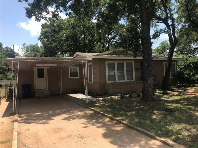 1106 Oakland Drive, Brownwood, TX 76801 (MLS #14125343) :: RE/MAX Town & Country